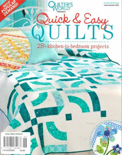 Quilter's World magazine