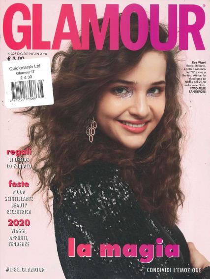 Glamour Italian magazine