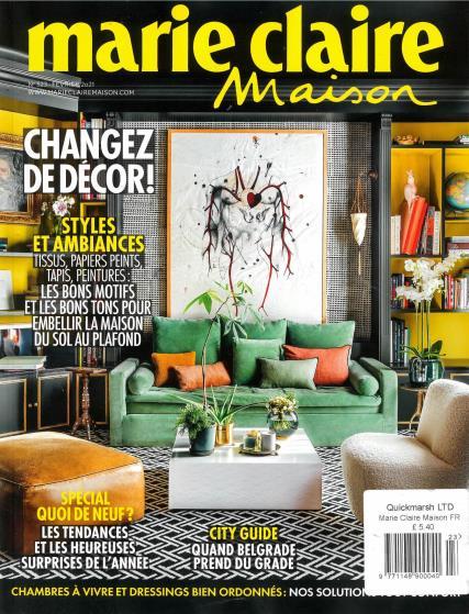 Marie Claire Maison magazine