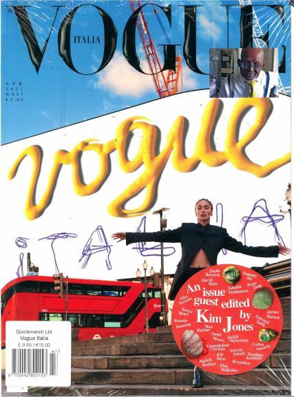 Vogue Italian magazine