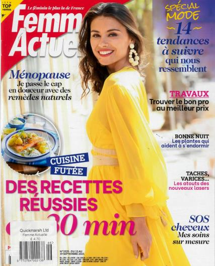 Femme Actuelle magazine