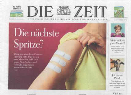 Die Zeit magazine