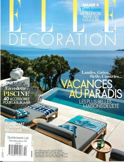 Elle Decoration French magazine