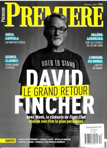 Premiere French magazine