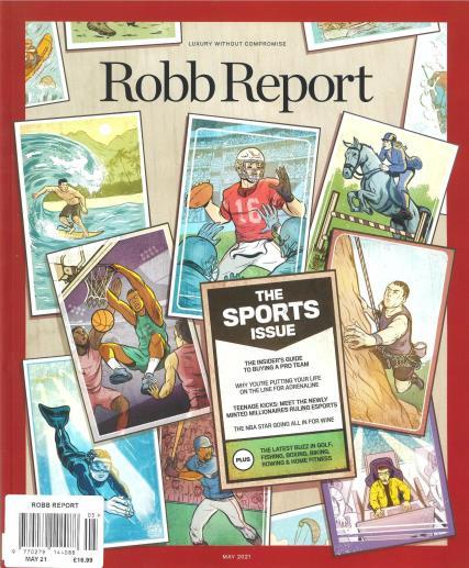 Robb Report US Edition magazine