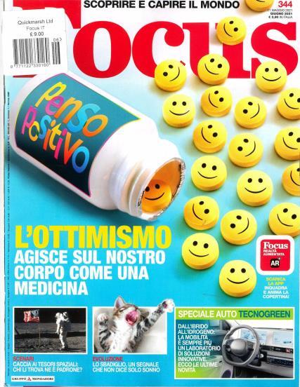 Focus Italian magazine