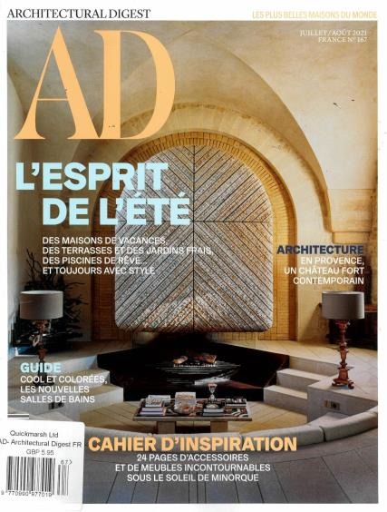 Architectural Digest French magazine