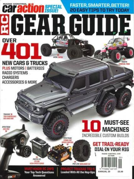 Radio Control Car Racer magazine