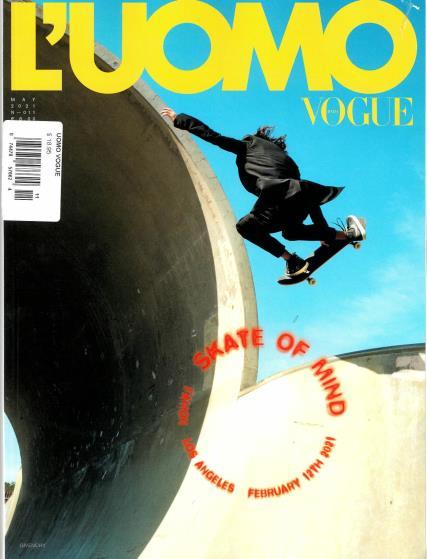 L'Uomo Vogue magazine
