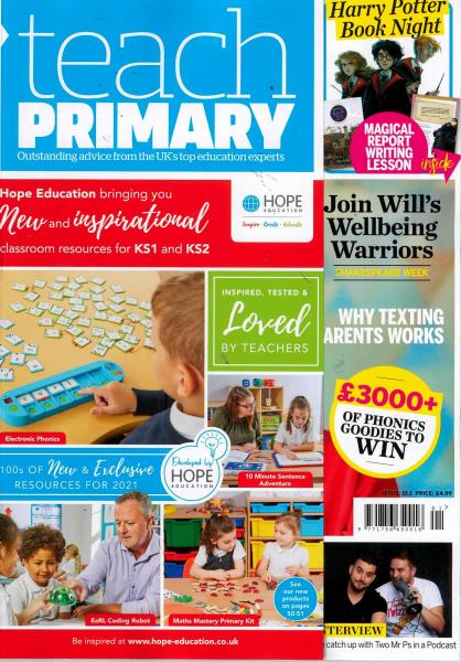Teach Primary magazine