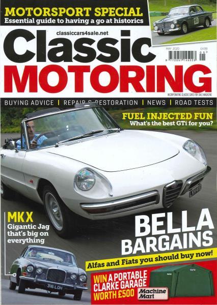 Classic Motoring magazine