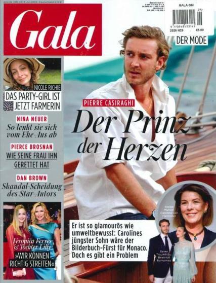 Gala German magazine