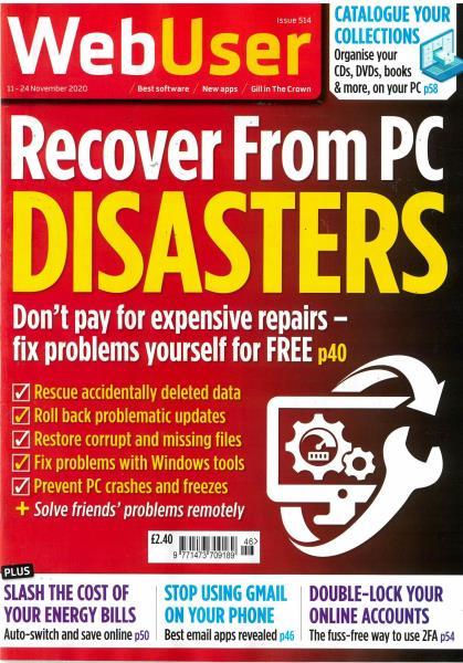 Web User magazine