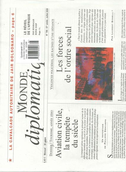 Le Monde Diplomatique French magazine
