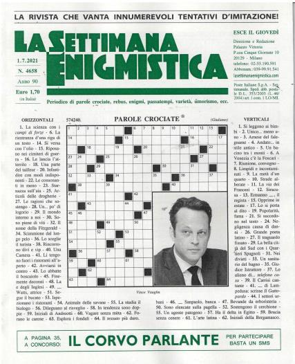 La Settimana Enigmistica magazine