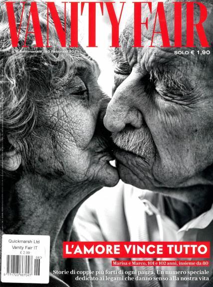 Vanity Fair Italian magazine