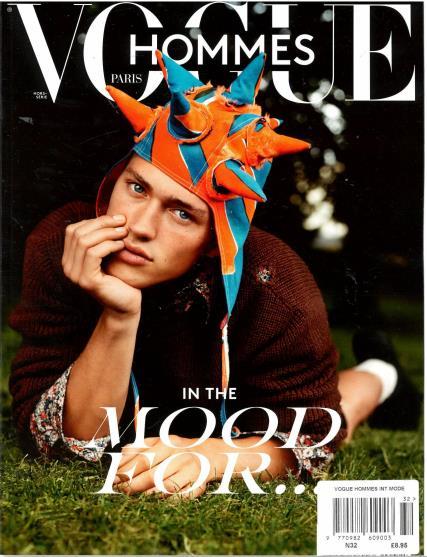 Vogue Hommes International Mode magazine