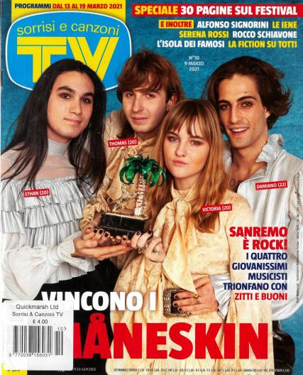 Sorrisi e Canzoni magazine