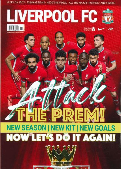 Liverpool Monthly FC magazine