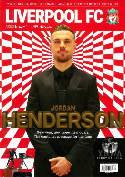 Liverpool Monthly FC magazine