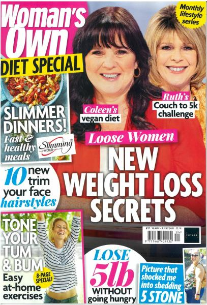 Woman's Own Monthly Lifestyle Series magazine
