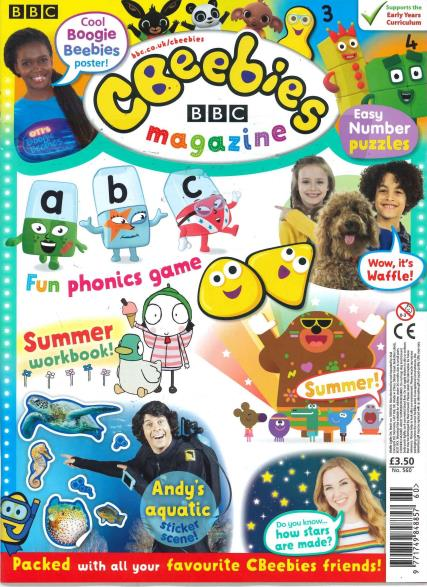 CBeebies magazine