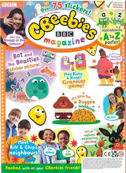 CBeebies magazine