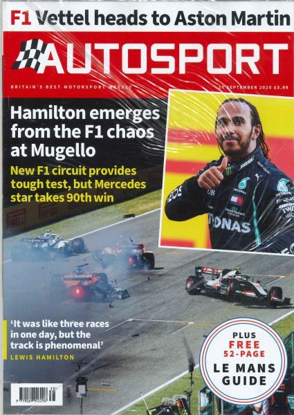 Autosport magazine
