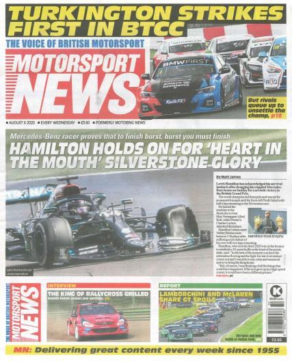 Motorsport News magazine