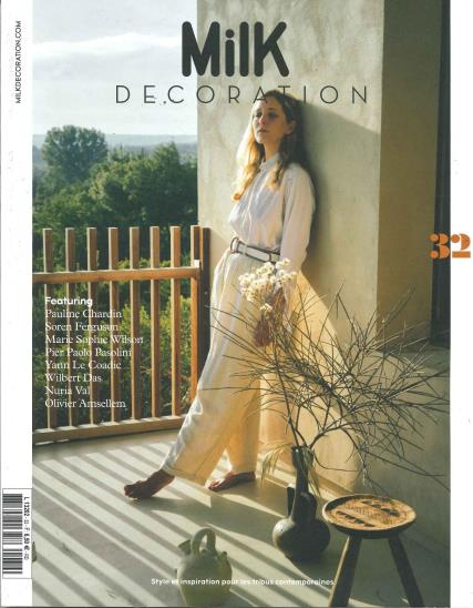 Milk Decoration French magazine