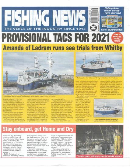 Fishing News magazine