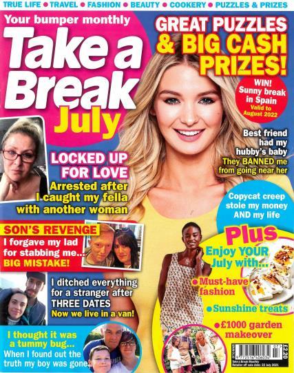 Take a Break Monthly magazine