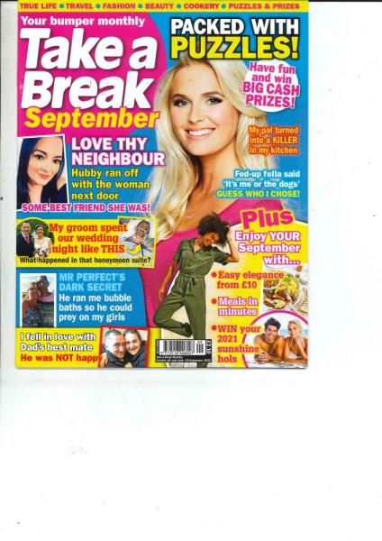 Take a Break Monthly magazine