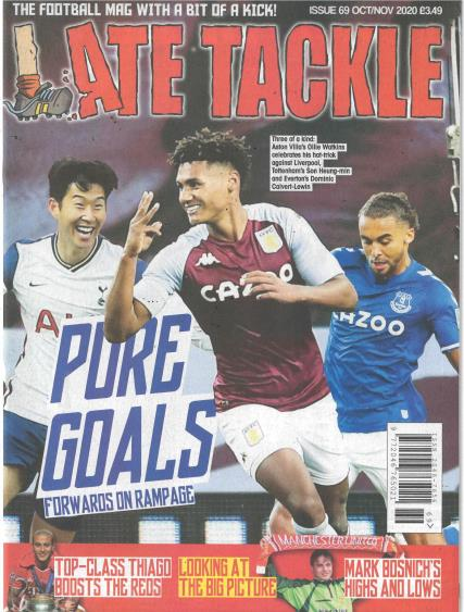 Late Tackle magazine
