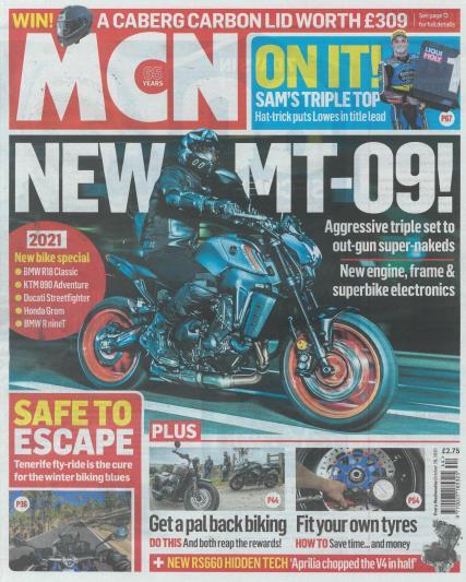 Motorcycle News magazine