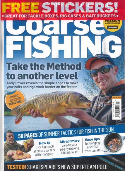 Improve Your Coarse Fishing magazine