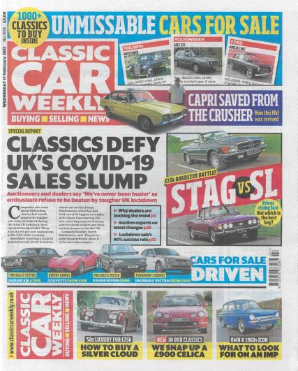 Classic Car Weekly magazine
