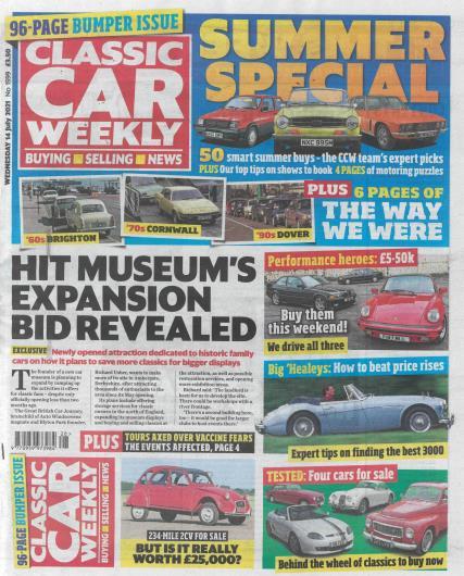 Classic Car Weekly magazine