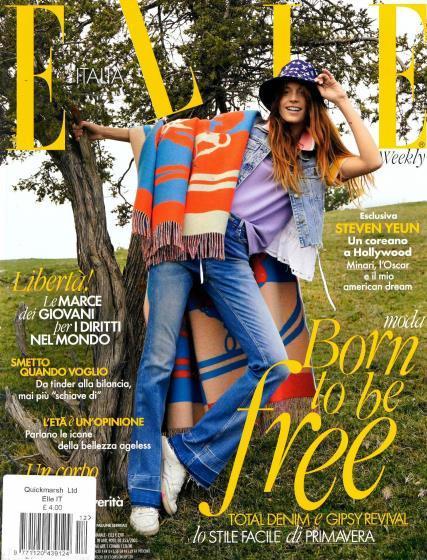 Elle Italian magazine