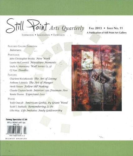 Still Point Arts Quarterly magazine