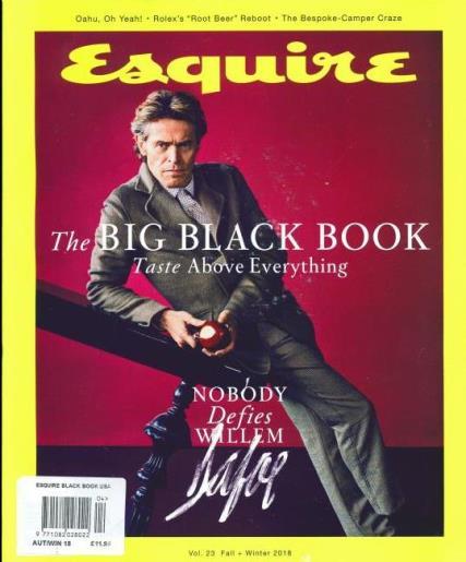 Esquire Big Black Book USA magazine