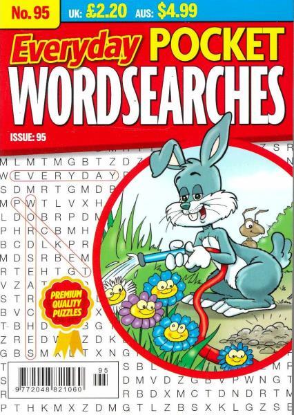 Everyday Pocket Wordsearches magazine