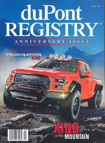 duPont Fine Automobiles magazine