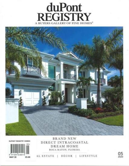 duPont Fine Homes magazine