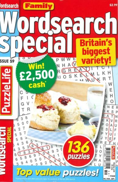 Family Wordsearch Special magazine