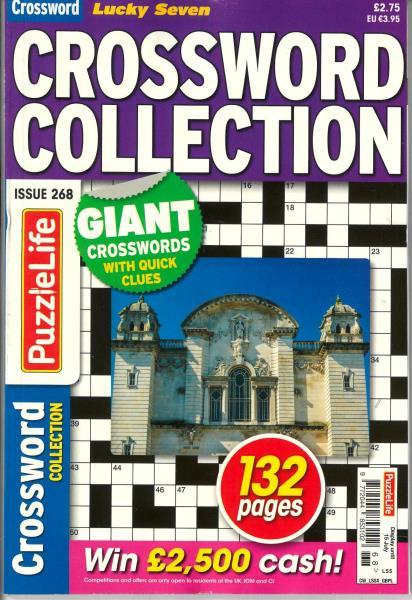 Lucky Seven Crossword Collection magazine