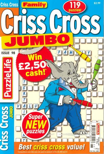Family Criss Cross Jumbo magazine