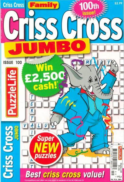Family Criss Cross Jumbo magazine