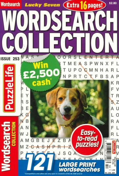 Lucky Seven Wordsearch magazine