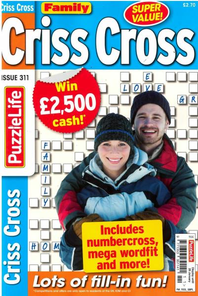 Family Criss Cross magazine